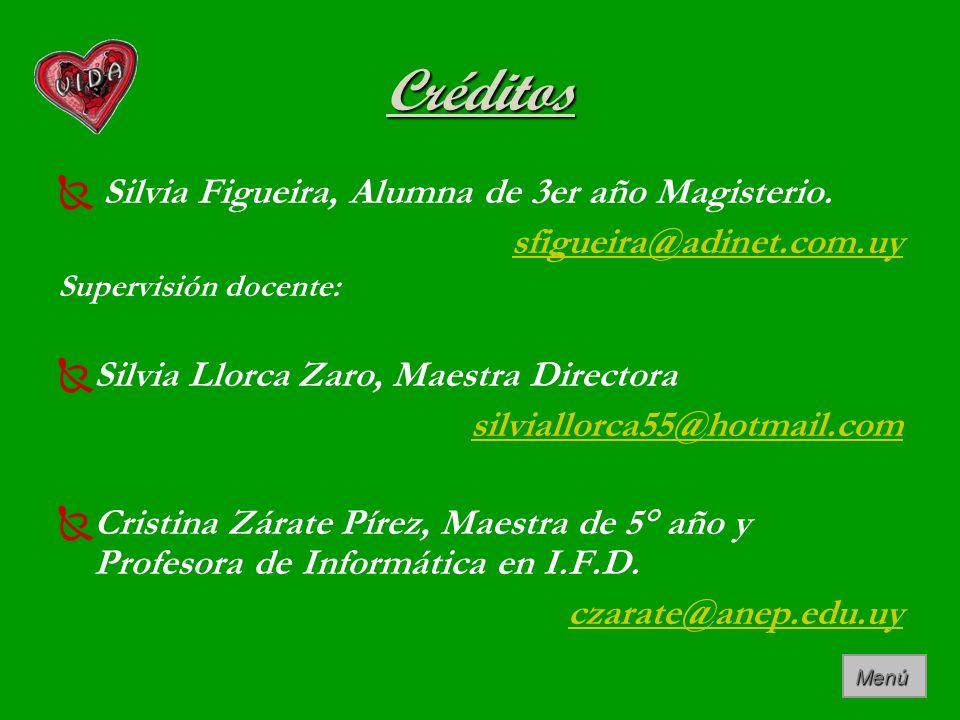 Créditos Silvia Figueira, Alumna de 3er año Magisterio.