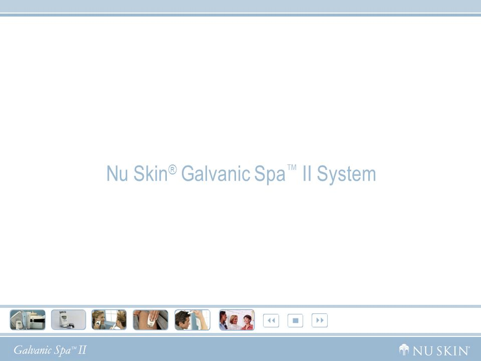Nu Skin® Galvanic Spa™ II System