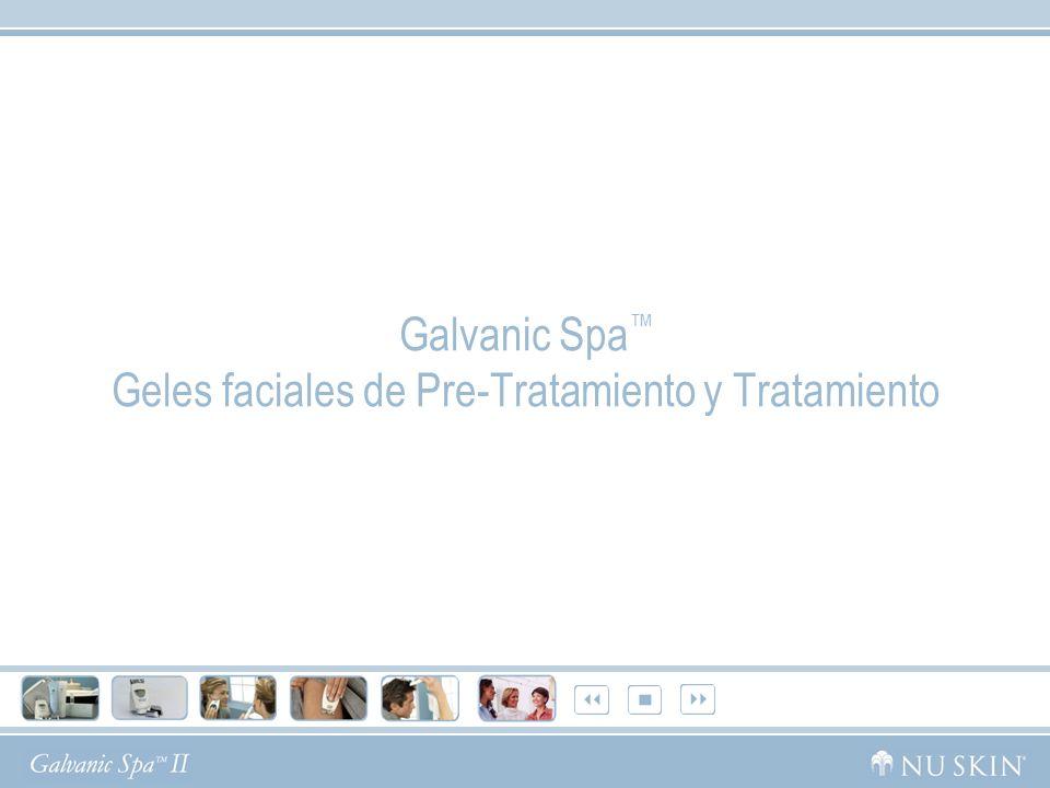 Galvanic Spa™ Geles faciales de Pre-Tratamiento y Tratamiento
