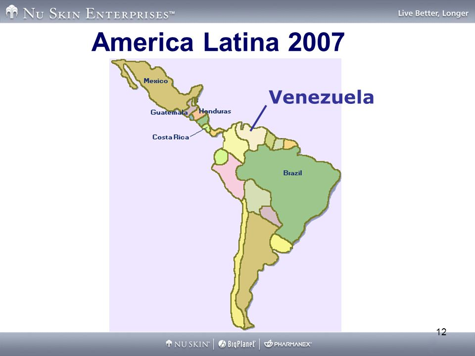America Latina 2007 Venezuela
