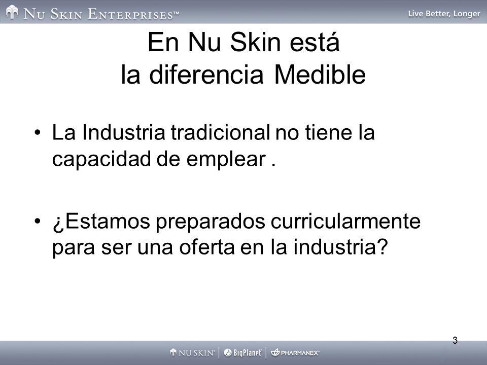En Nu Skin está la diferencia Medible
