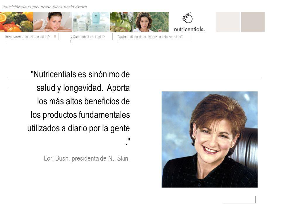 Lori Bush, presidenta de Nu Skin.