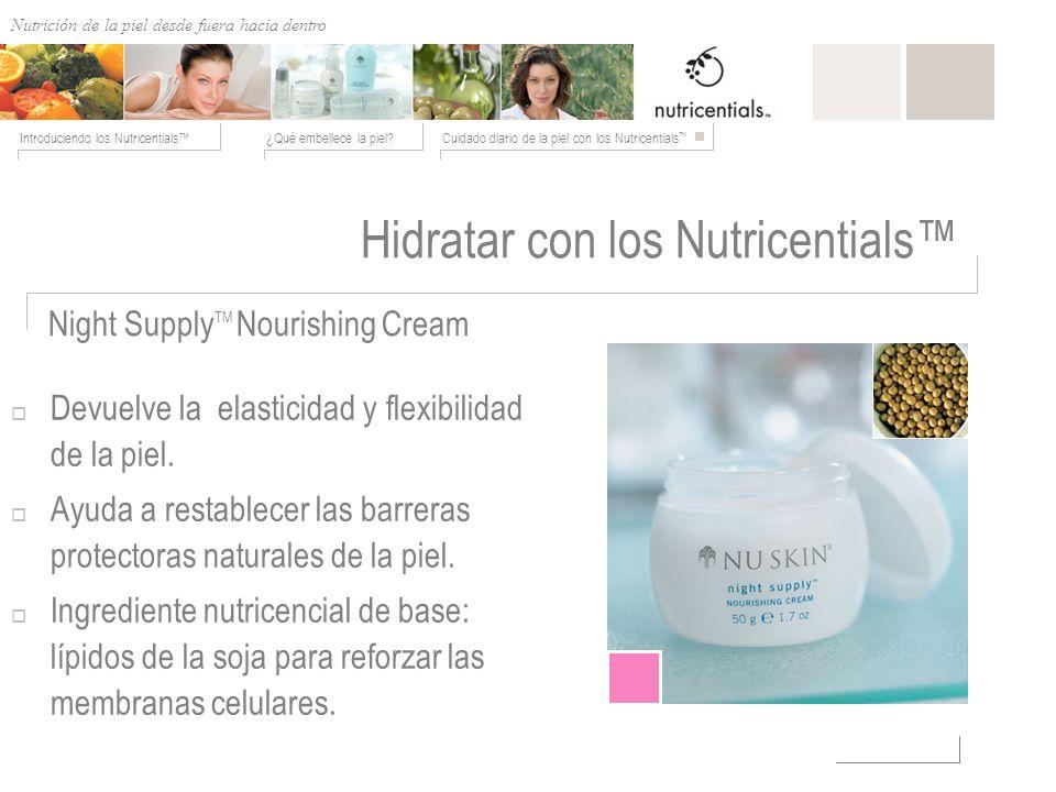 Hidratar con los Nutricentials™
