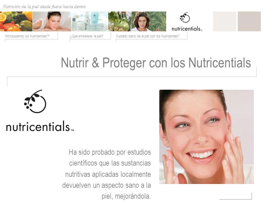 Nutrir & Proteger con los Nutricentials