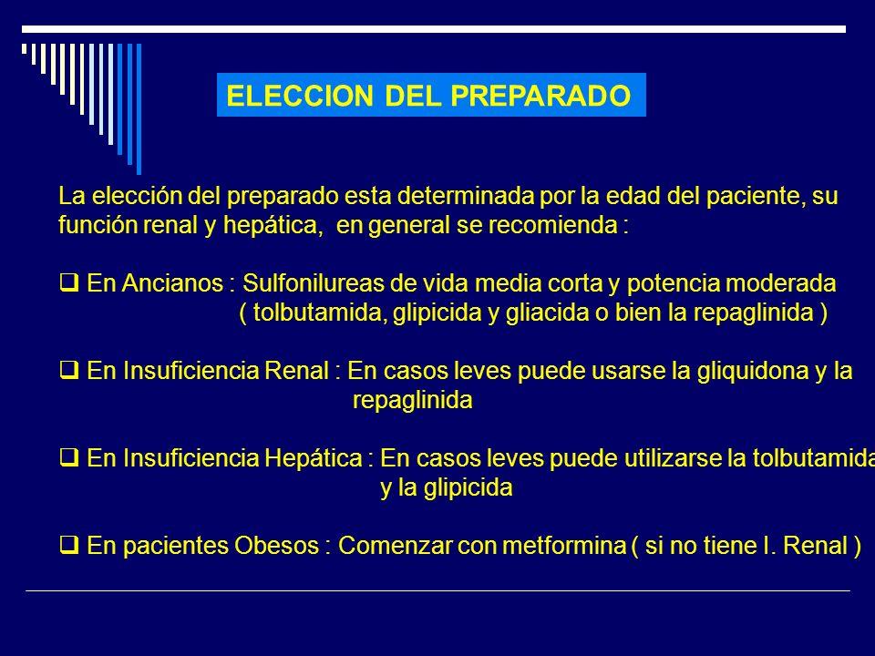 ELECCION DEL PREPARADO
