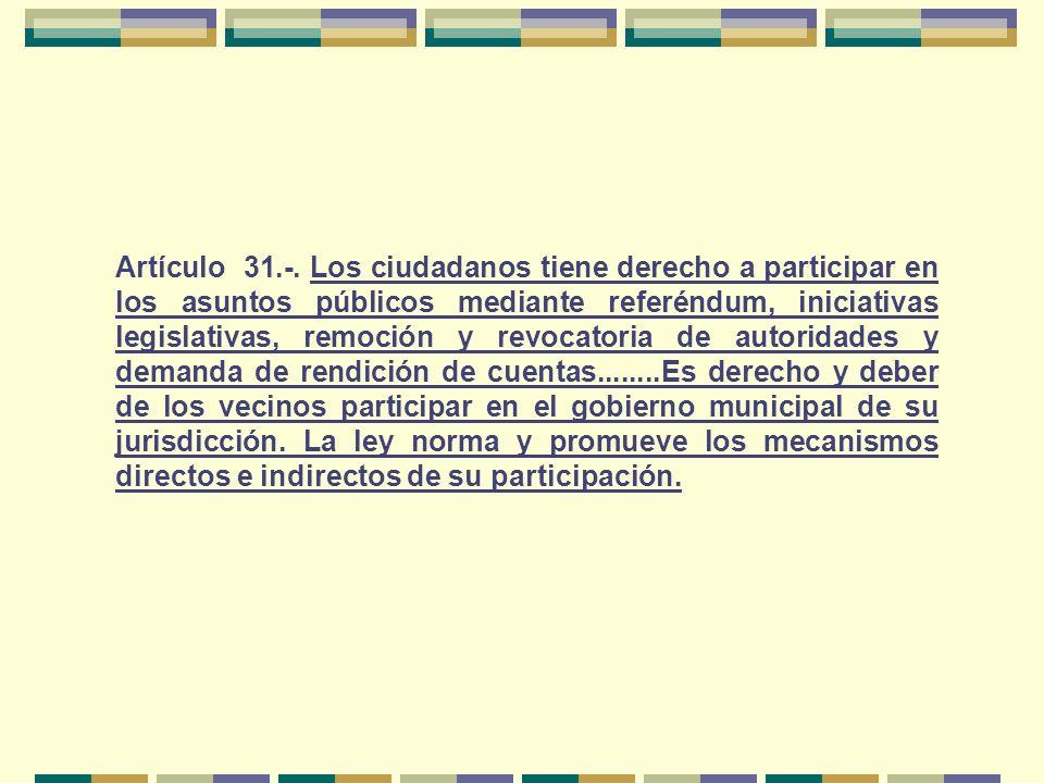 Artículo 31.-.