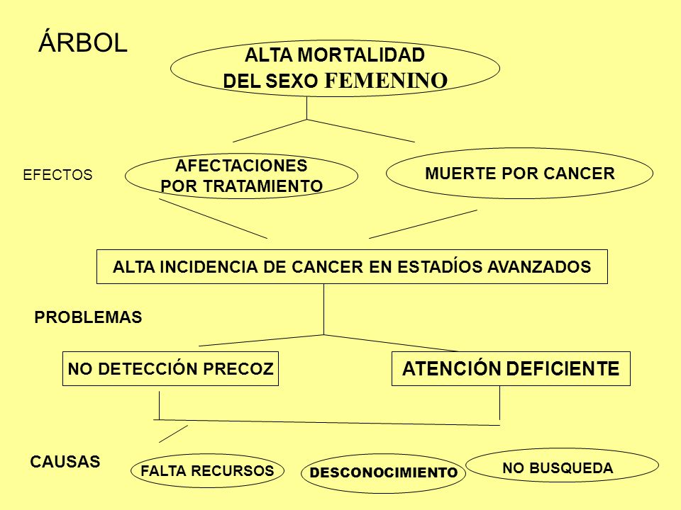 ALTA INCIDENCIA DE CANCER EN ESTADÍOS AVANZADOS