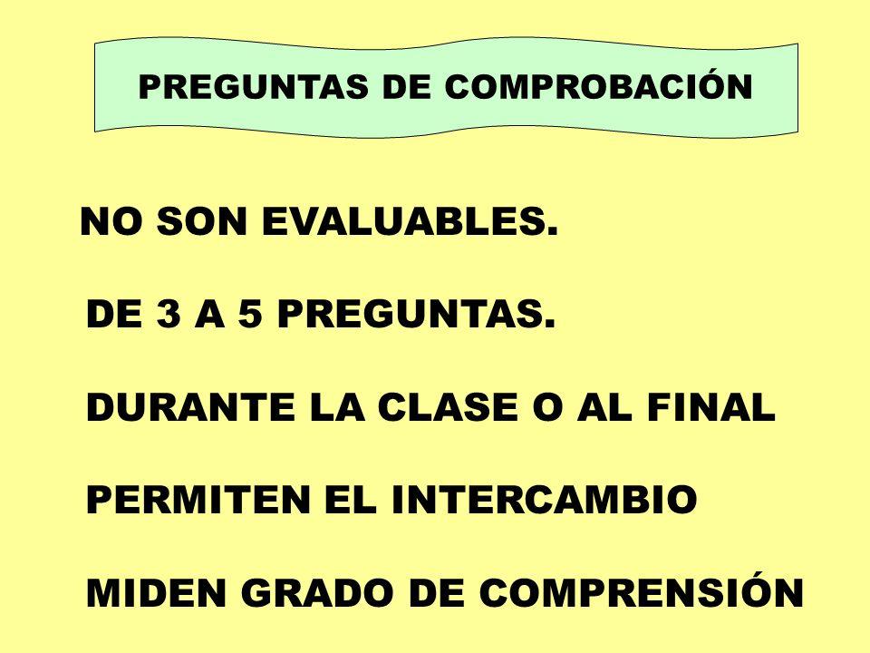 PREGUNTAS DE COMPROBACIÓN