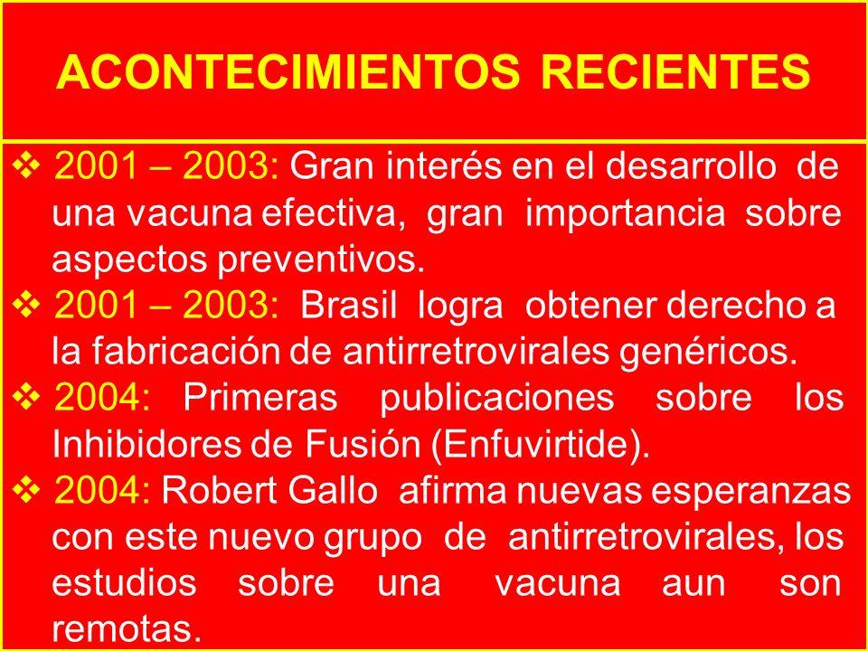 ACONTECIMIENTOS RECIENTES