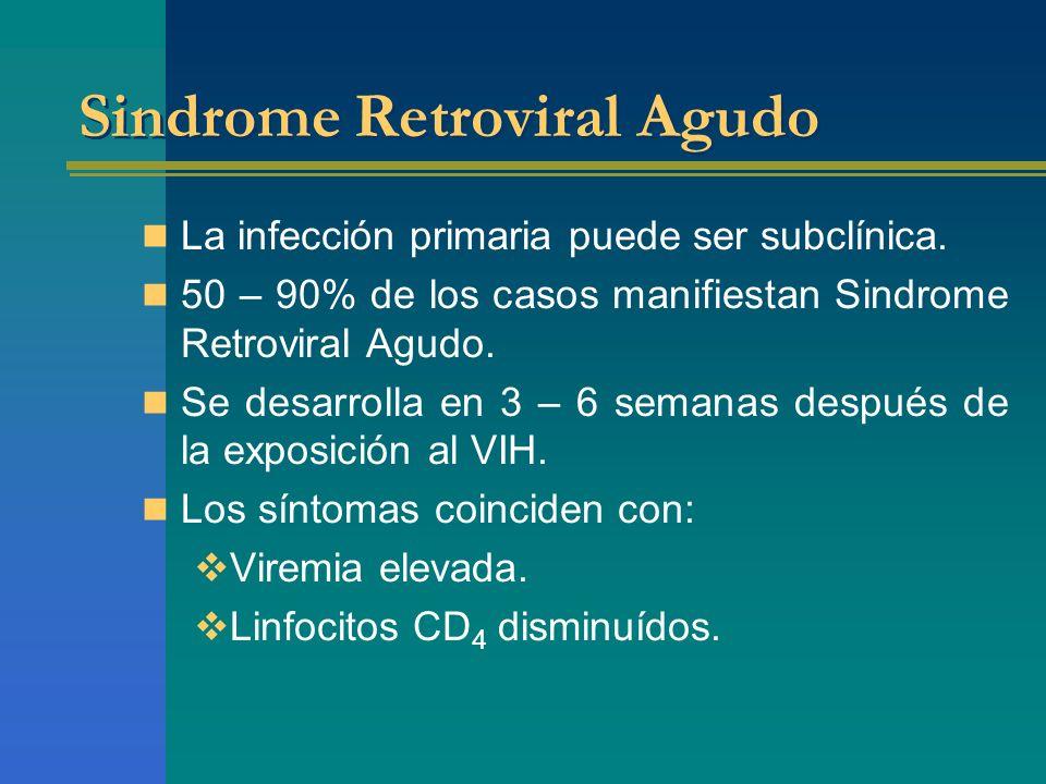 Sindrome Retroviral Agudo