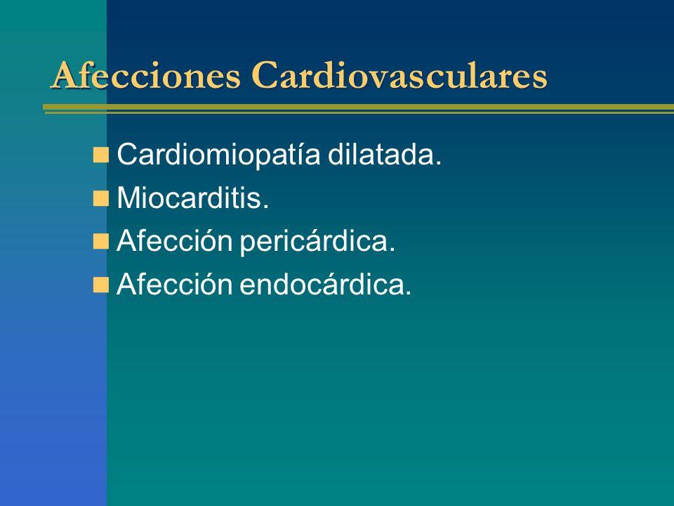 Afecciones Cardiovasculares
