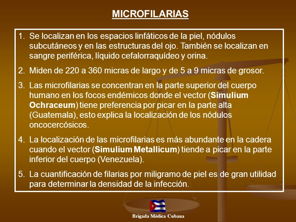 MICROFILARIAS