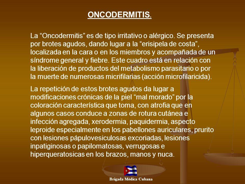 ONCODERMITIS.