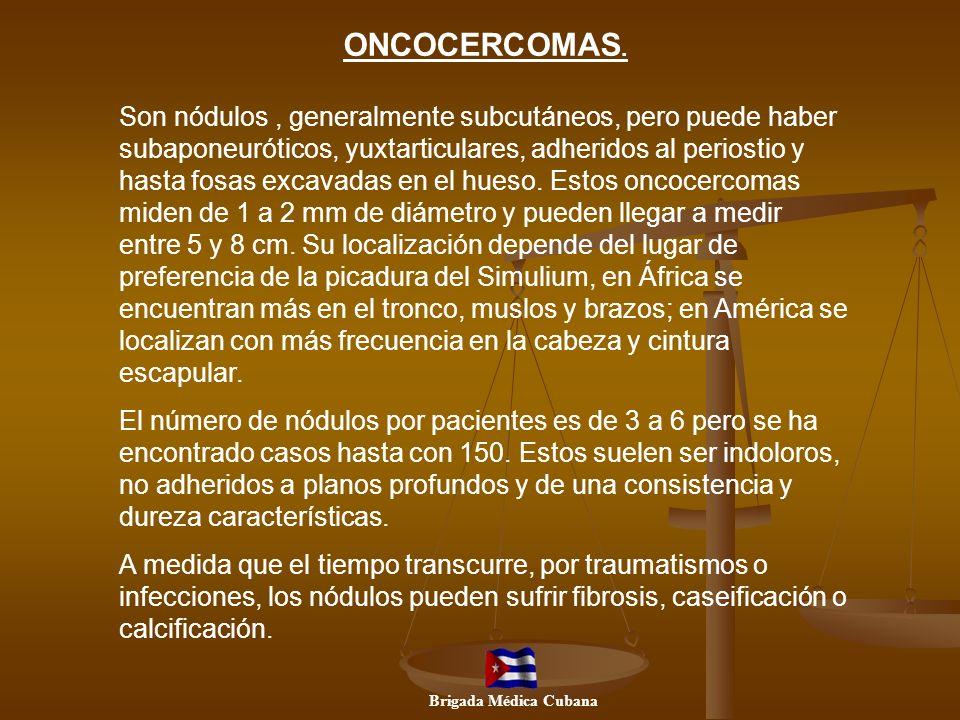 ONCOCERCOMAS.