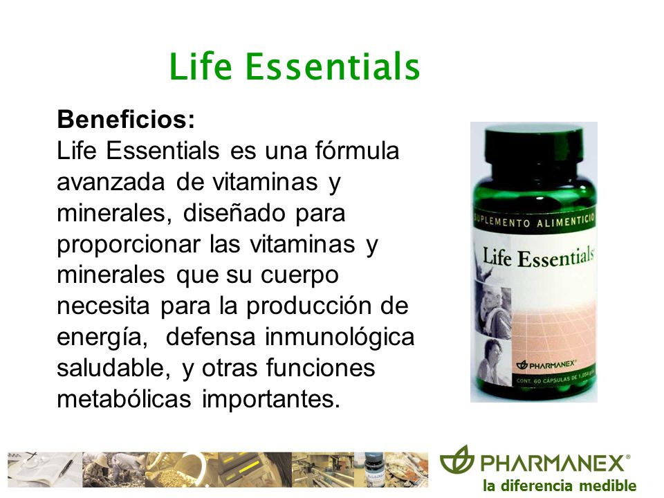 Life Essentials Beneficios: