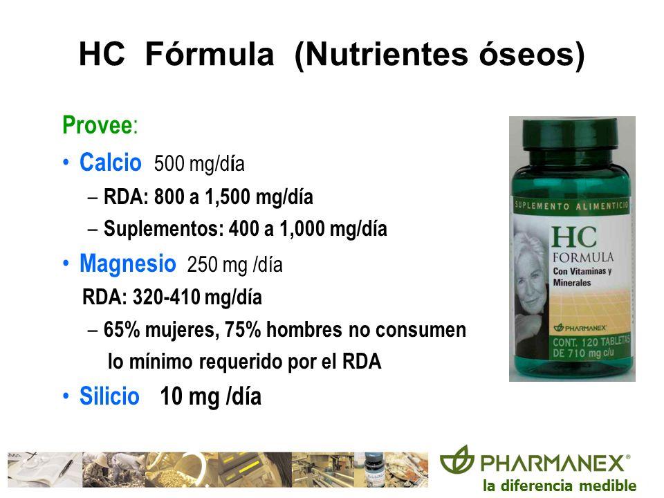 HC Fórmula (Nutrientes óseos)