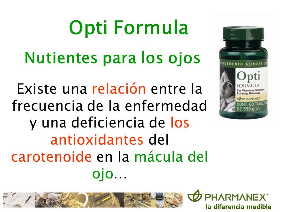 Opti Formula Nutientes para los ojos