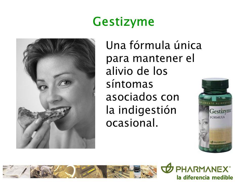 GestizymeUna fórmula única para mantener el alivio de los síntomas asociados con.