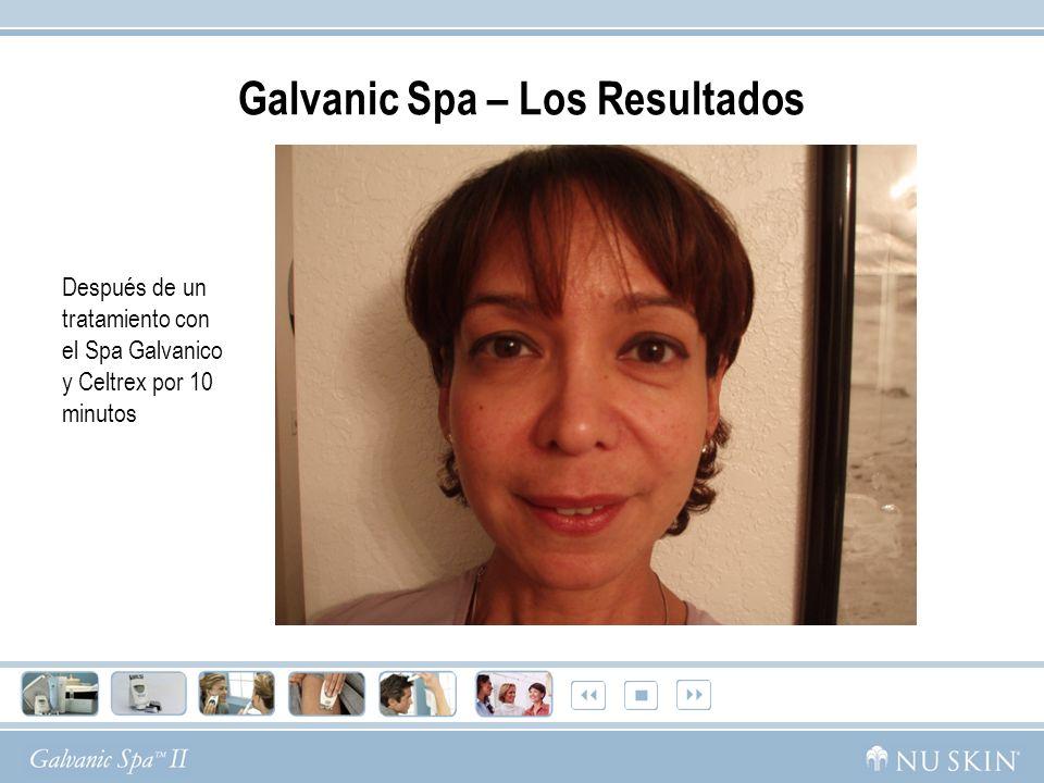 Galvanic Spa – Los Resultados