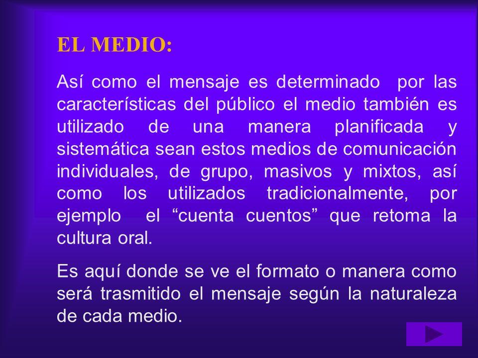 EL MEDIO: