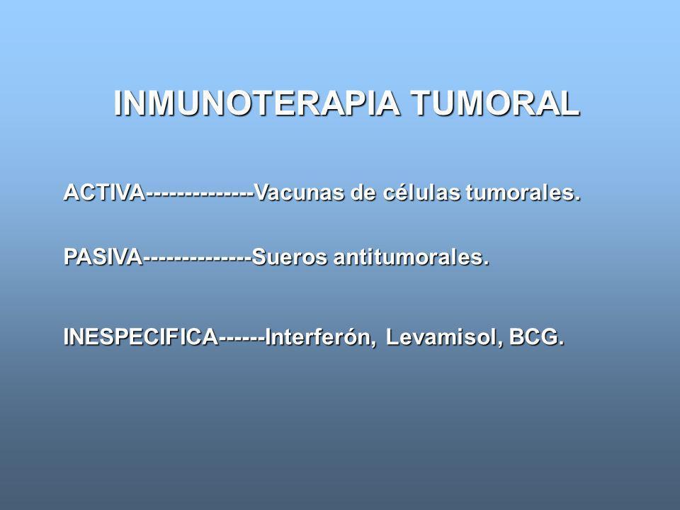 INMUNOTERAPIA TUMORAL