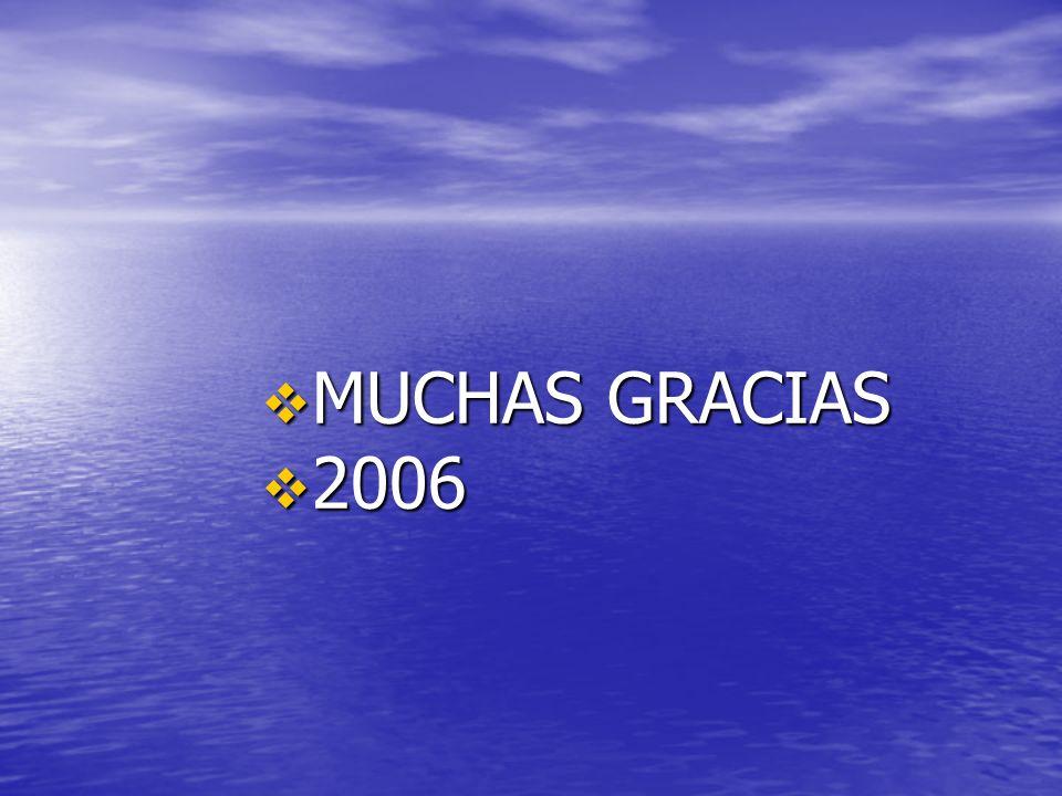 MUCHAS GRACIAS 2006