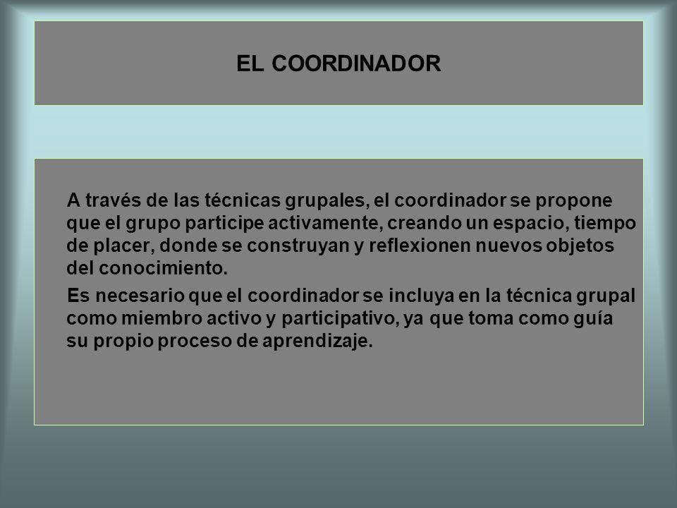 EL COORDINADOR