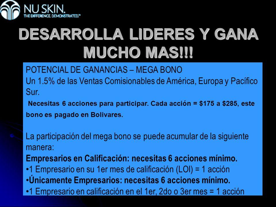 DESARROLLA LIDERES Y GANA MUCHO MAS!!!