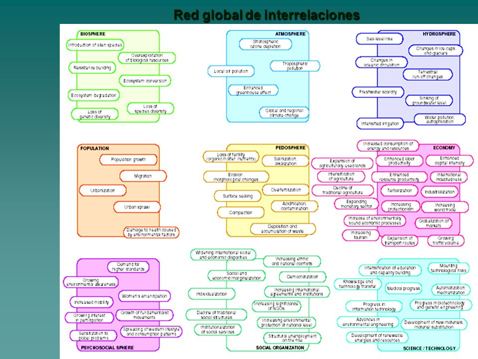 Red global de interrelaciones