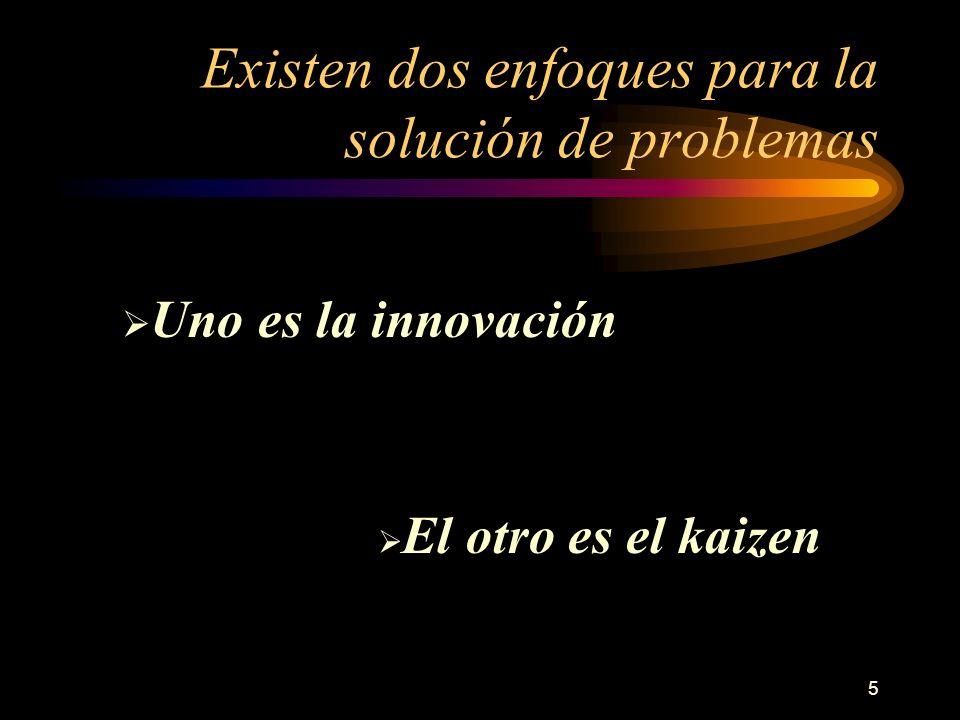 Existen dos enfoques para la solución de problemas