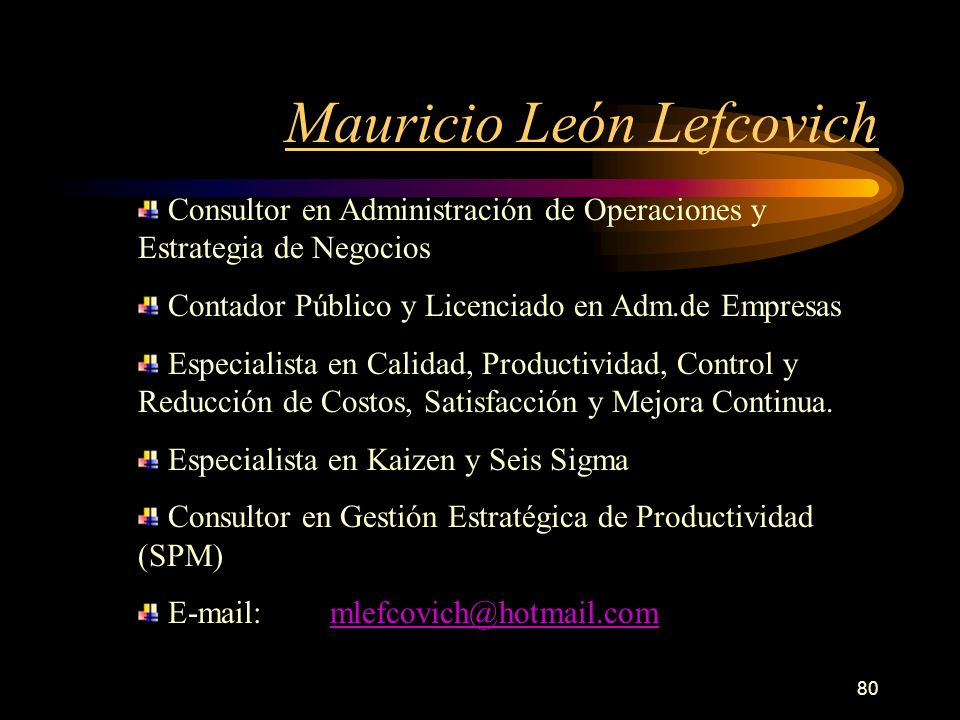 Mauricio León Lefcovich