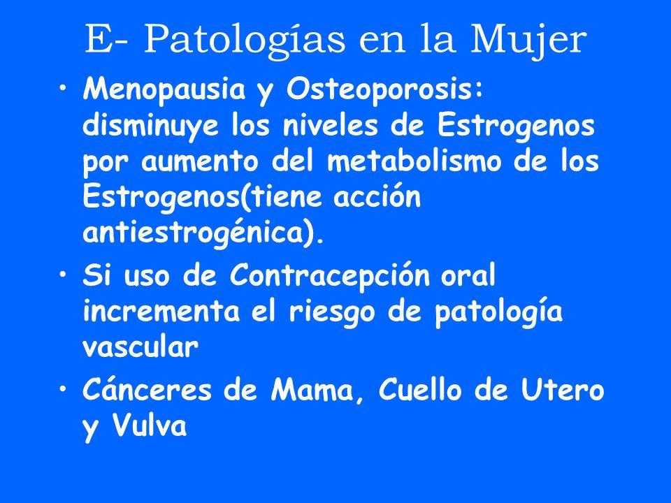 E- Patologías en la Mujer
