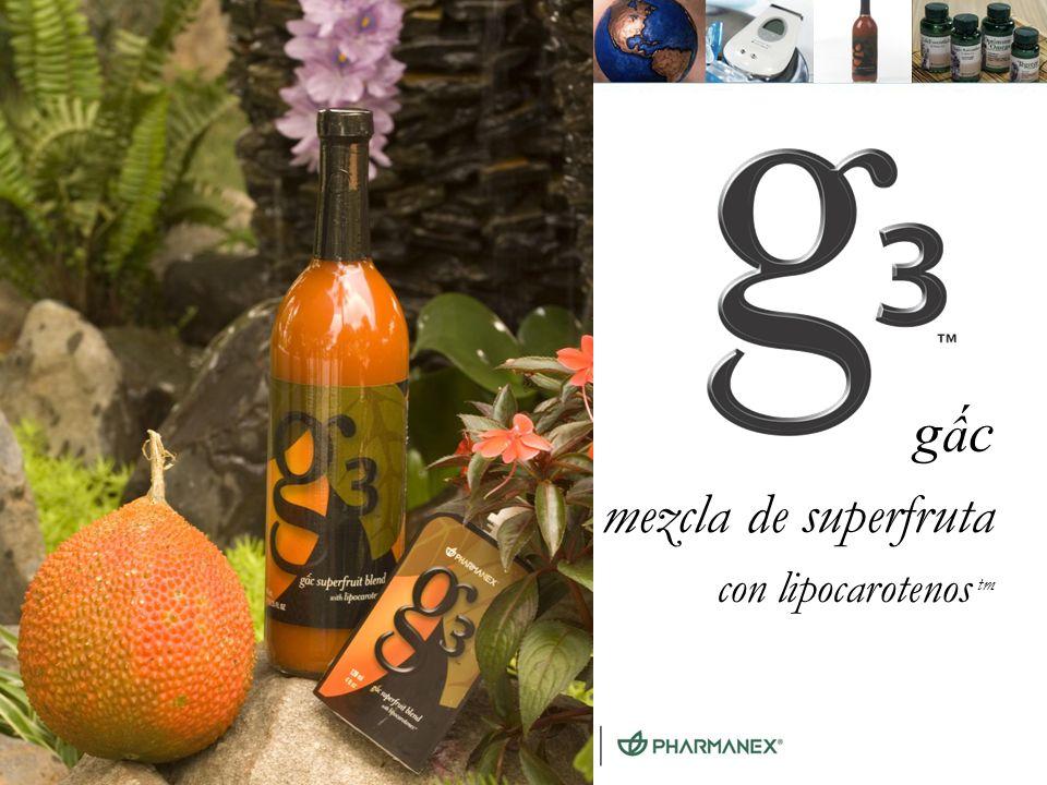 G3™ gấc mezcla de superfruta con lipocarotenos tm