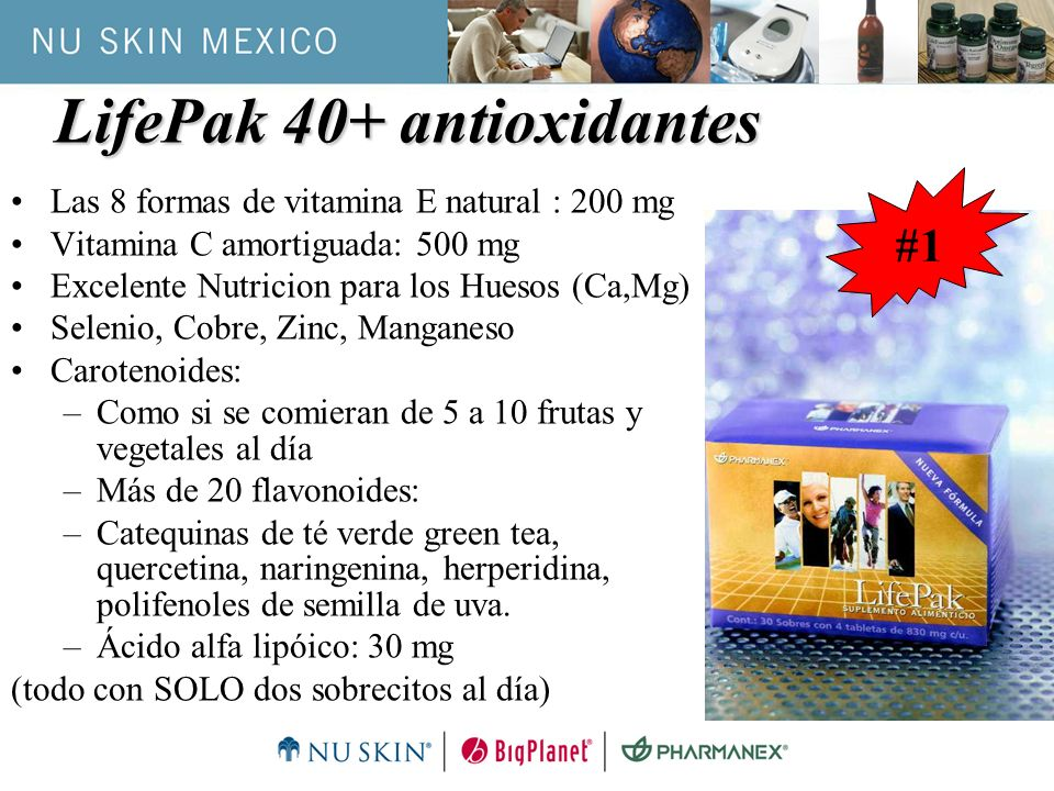 LifePak 40+ antioxidantes