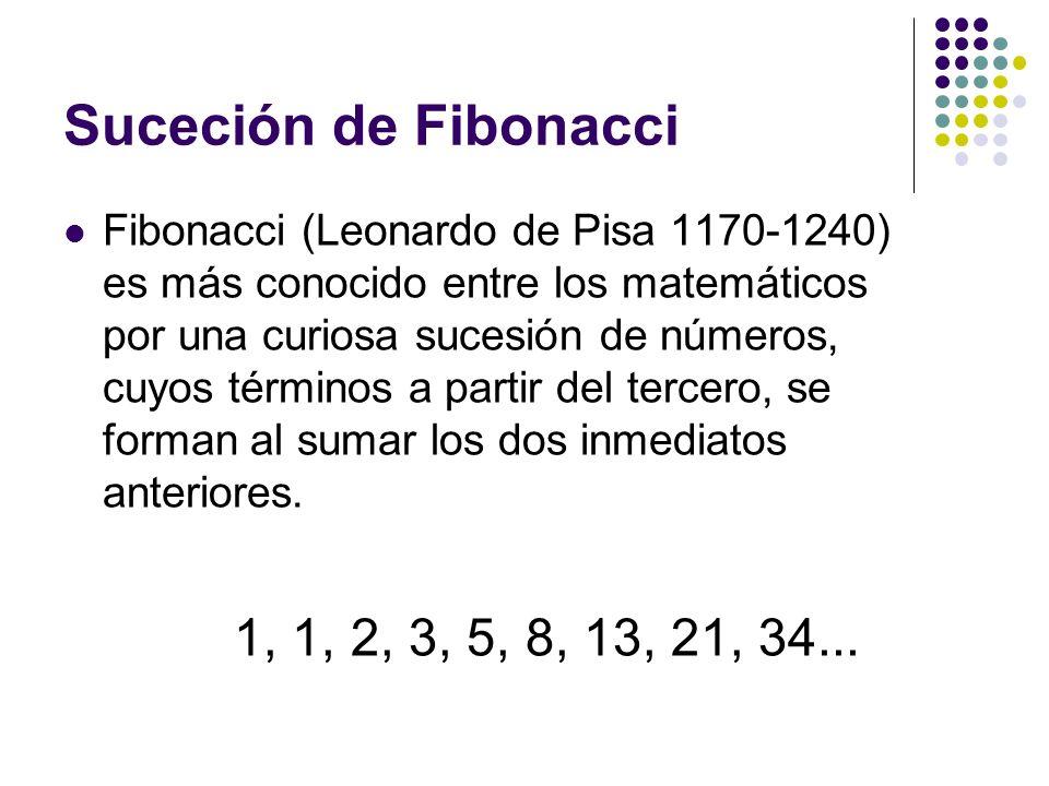 Suceción de Fibonacci