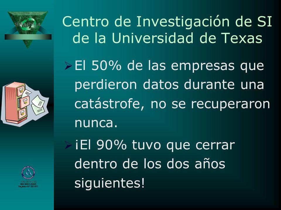 Centro de Investigación de SI de la Universidad de Texas
