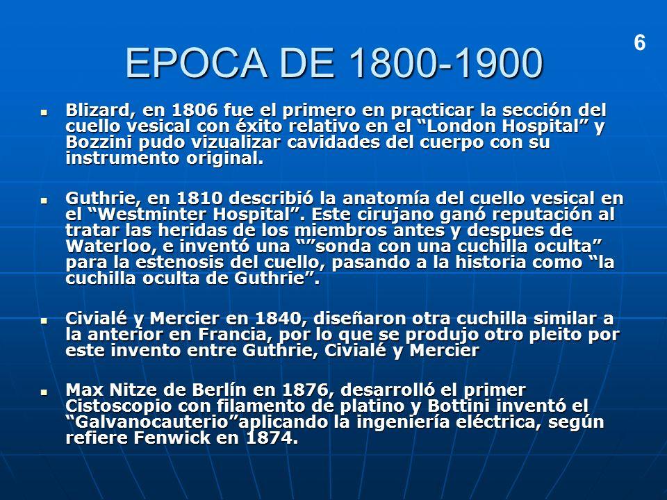 EPOCA DE 1800-19006.