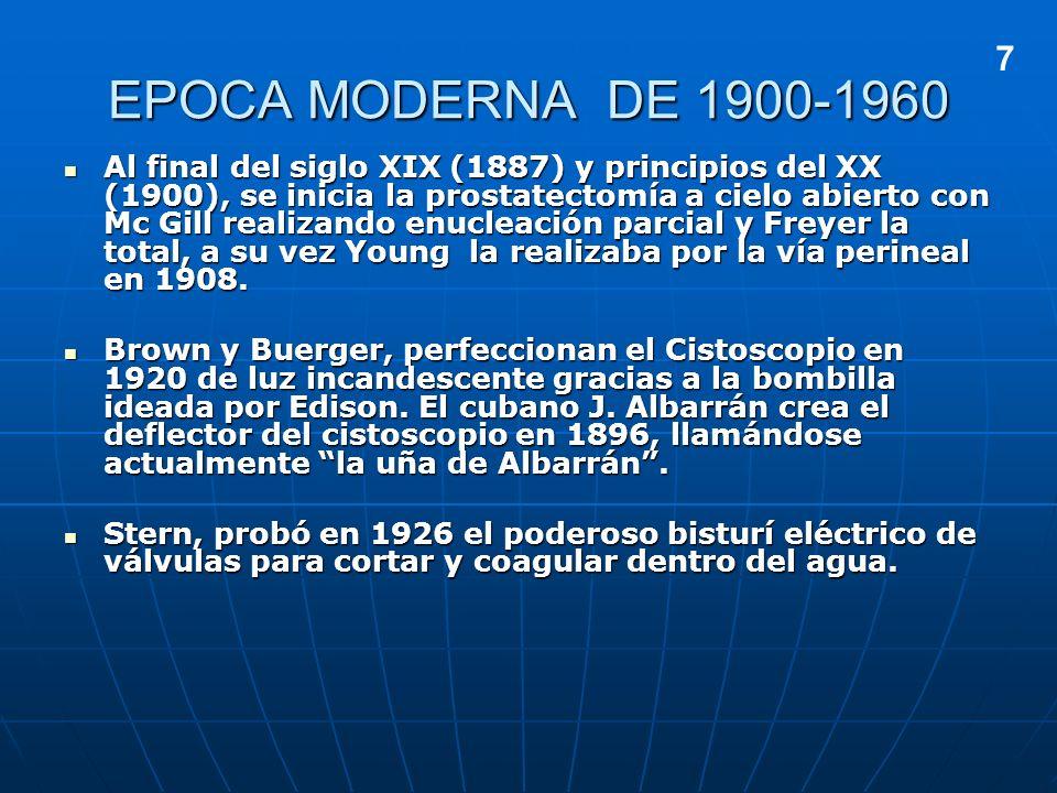 EPOCA MODERNA DE 1900-1960 7.