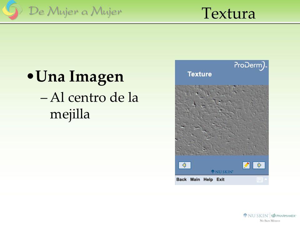 Textura Una Imagen Al centro de la mejilla