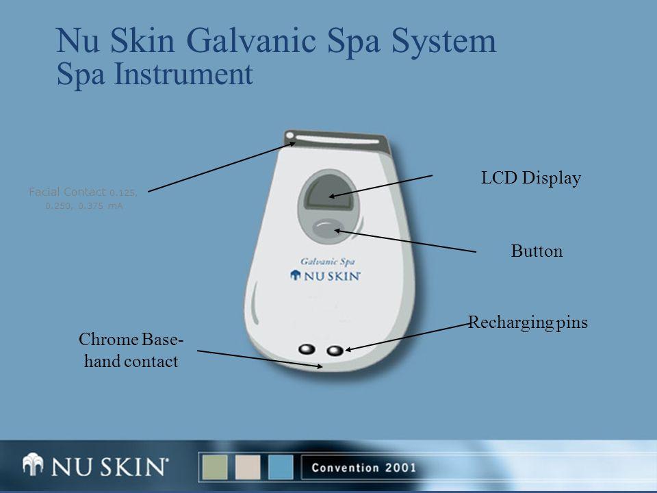 Nu Skin Galvanic Spa System Spa Instrument