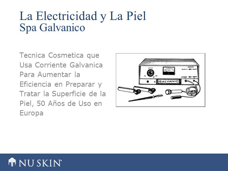 La Electricidad y La Piel Spa Galvanico