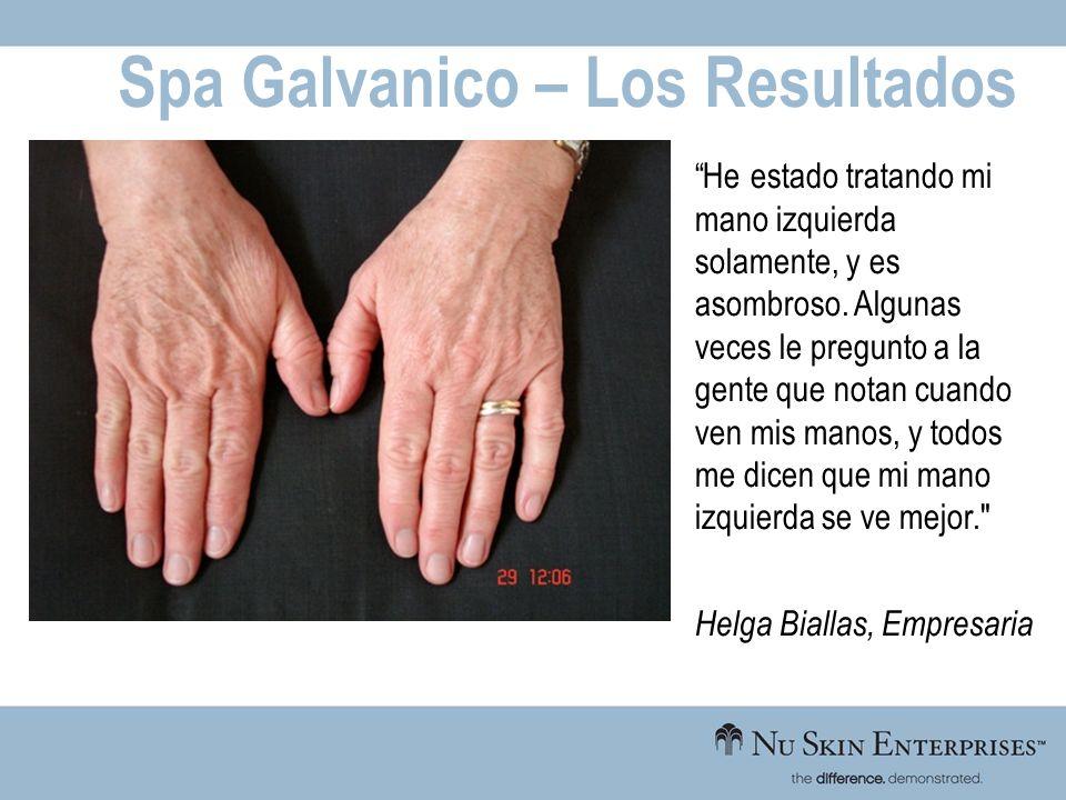 Spa Galvanico – Los Resultados