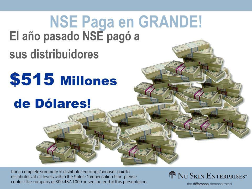 NSE Paga en GRANDE! $515 Millones