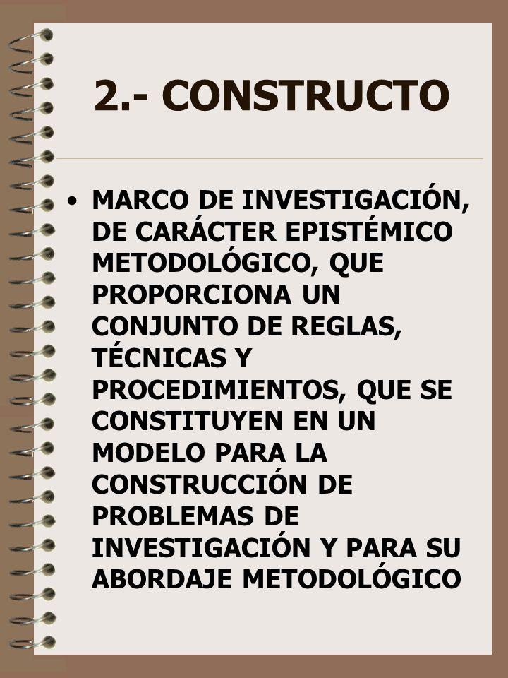 2.- CONSTRUCTO