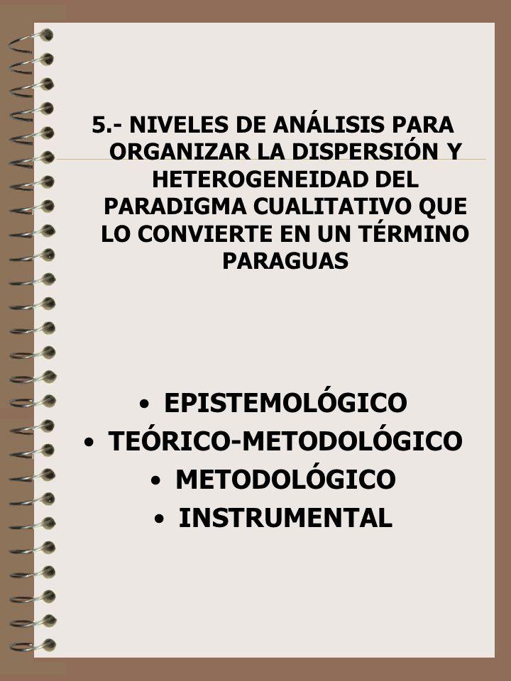 TEÓRICO-METODOLÓGICO