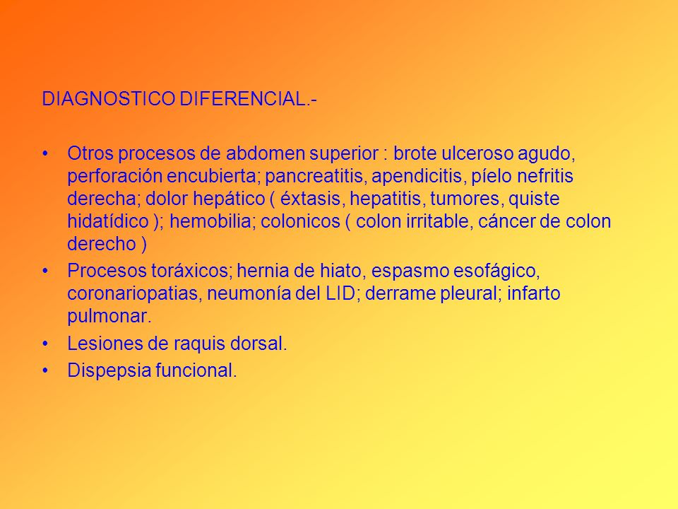 DIAGNOSTICO DIFERENCIAL.-