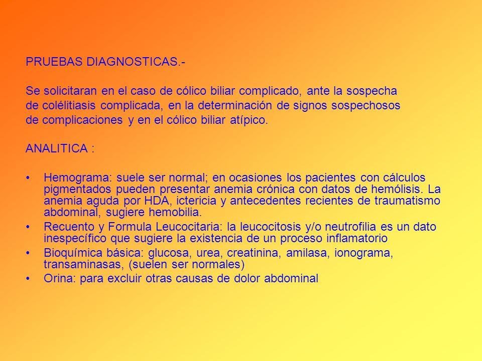 PRUEBAS DIAGNOSTICAS.-