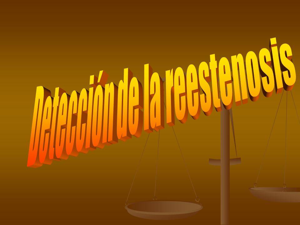 Detección de la reestenosis