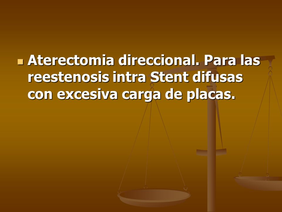 Aterectomia direccional