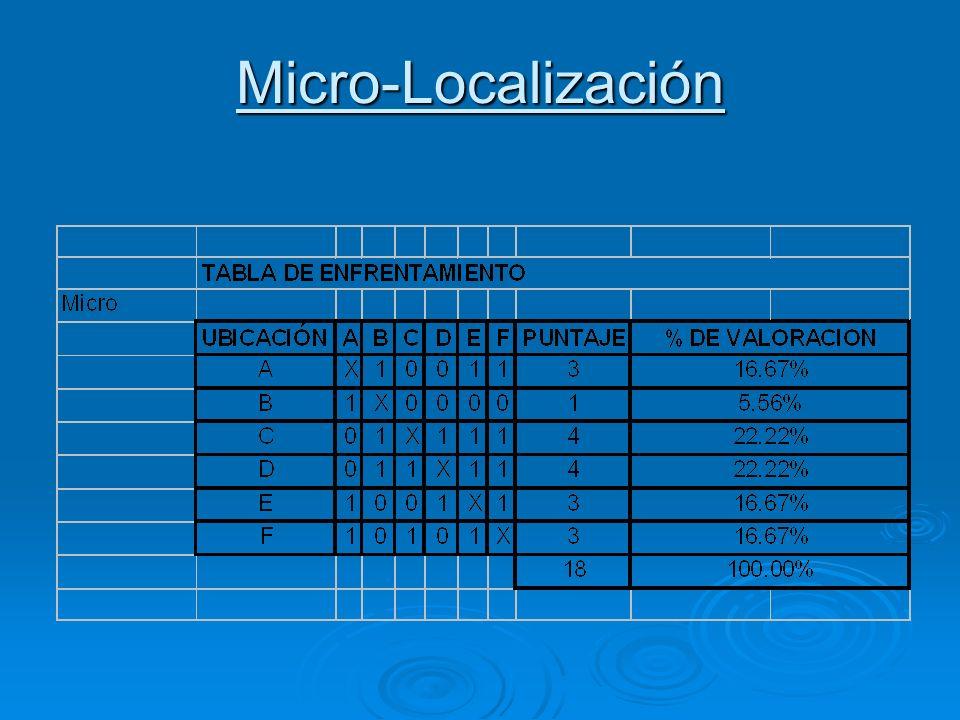 Micro-Localización